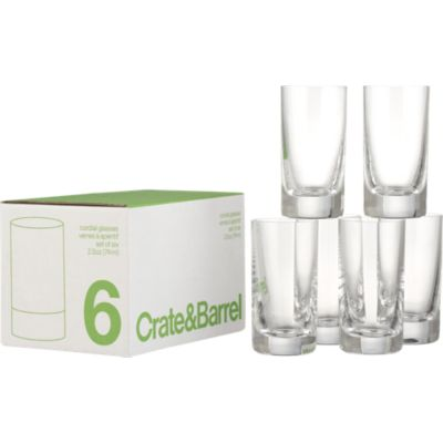 Set of 6 Cordial Glasses