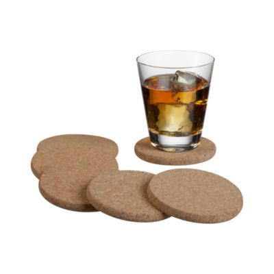 Set of 6 Cork Coasters