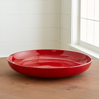 Cormick Red Centerpiece Bowl