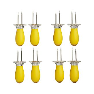 Set of 8 Corn Holders