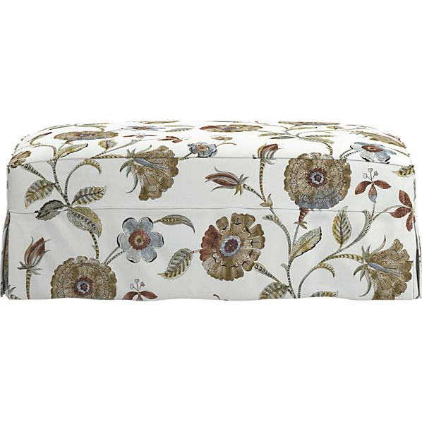 """Slipcover Only for Cortland 45"""" Large Ottoman/Storage Ottoman"""