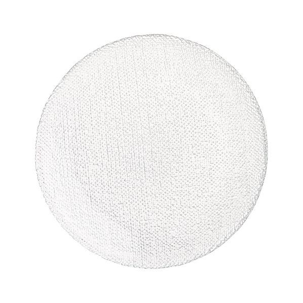 CottonAppPlateClr6p5inS13