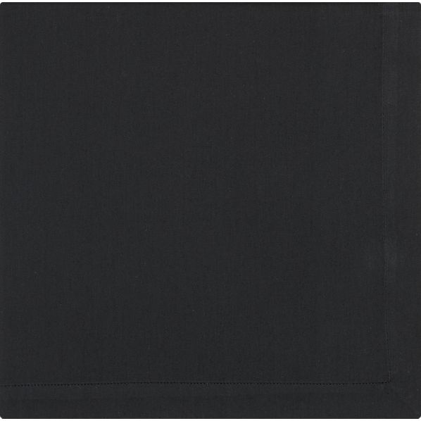 Cotton Black Napkin