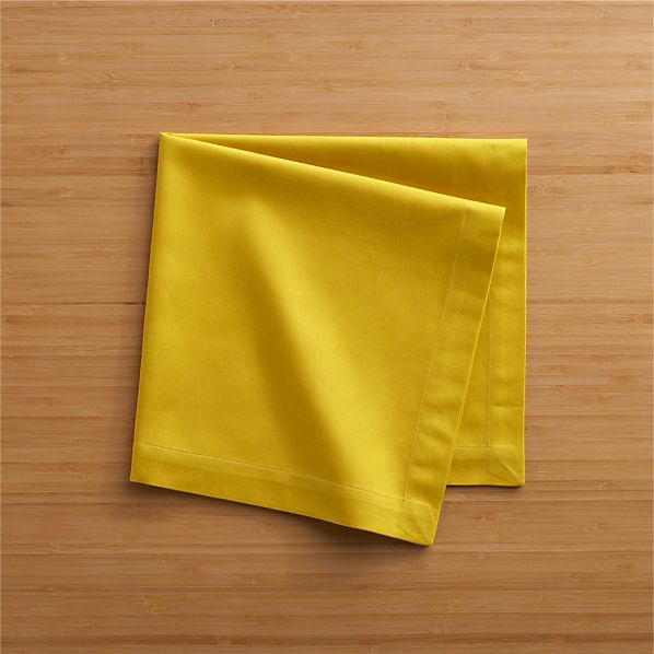 Cotton Yellow Napkin