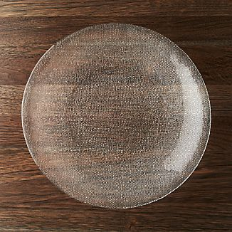 Cotton Clear Platter