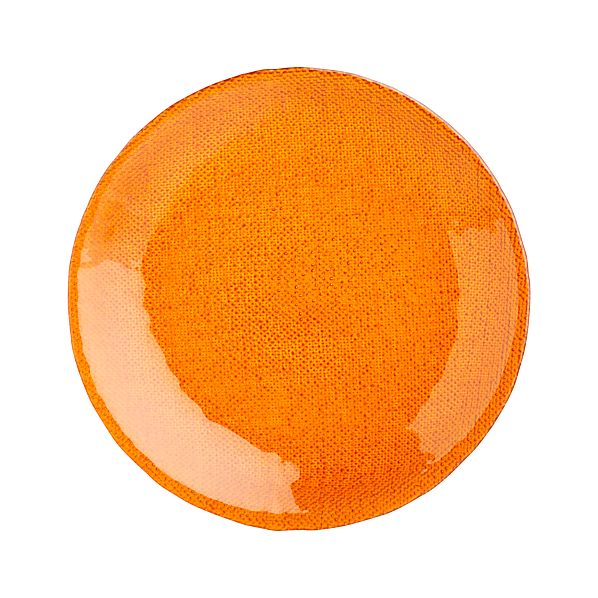 "Cotton Orange 8"" Salad Plate"