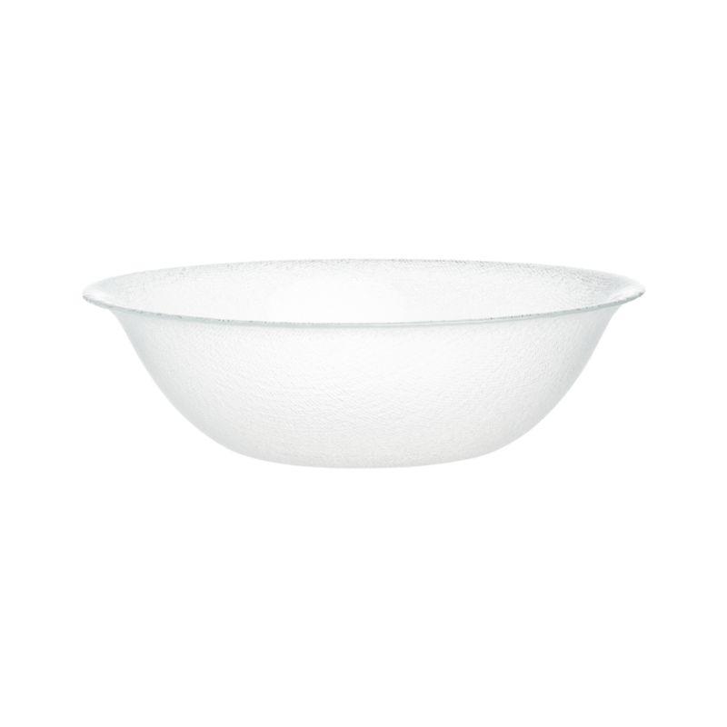 Cotton Clear Serving Bowl