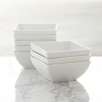 Set of 8 Court Bowls
