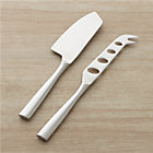 Couture 2-Piece Cheese Knife Set: 1.