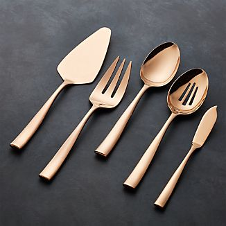Couture Rose Gold 5-Piece Serving Set