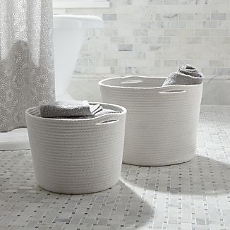 Cove Rope Baskets