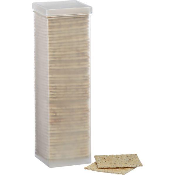 Square Cracker Container