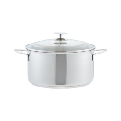 Stainless 7 qt. Chili Pot Dutch Oven by Berndes for Crate and Barrel
