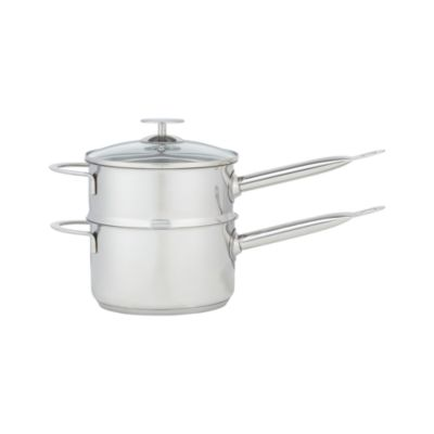 Crate and Barrel Stainless Cookware by Berndes 2 qt. Double Boiler