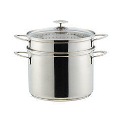 Crate & Barrel Stainless Cookware