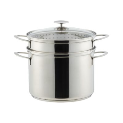 Crate and Barrel Stainless Cookware by Berndes 8 qt. Multicooker with Lid