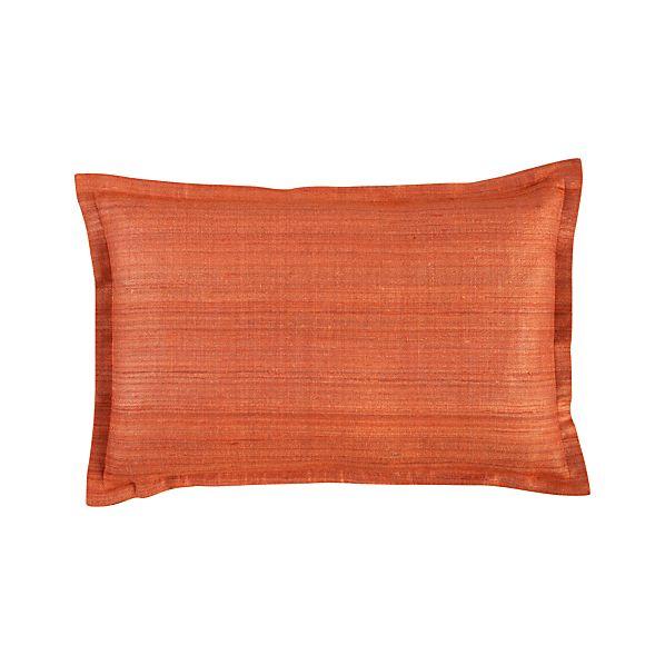 """Crawford Orange 18""""x12"""" Pillow"""