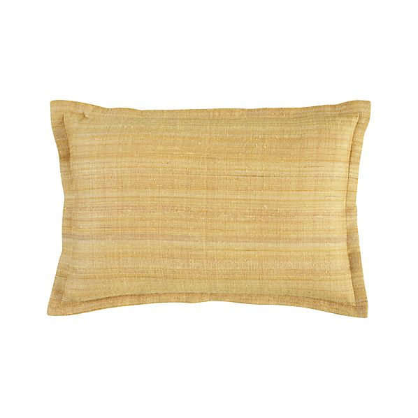 "Crawford Yellow 18""x12"" Pillow"