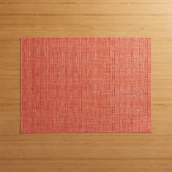 Chilewich ® Crepe Coral Vinyl Placemat