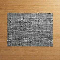 Crepe Grey Vinyl Placemat