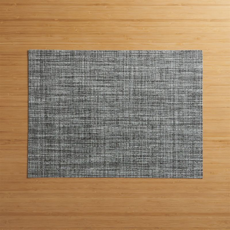Chilewich ® Crepe Grey Vinyl Placemat