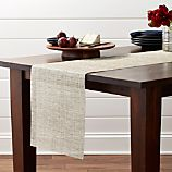 """Chilewich Crepe Neutral 72"""" Table Runner"""