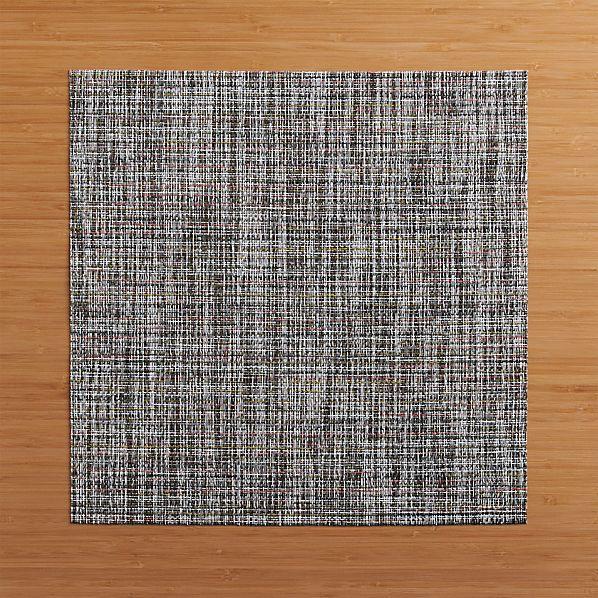 Chilewich ® Crepe Plaid Square Vinyl Placemat