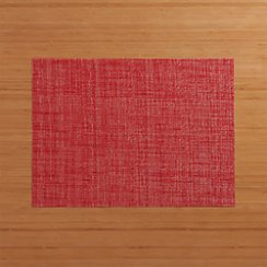 Chilewich ® Crepe Red Vinyl Placemat