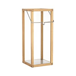 Crosby Large Teak Wood Lantern