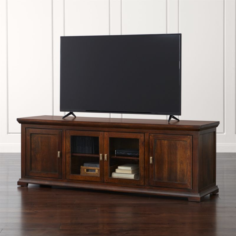 Crowne 72 Quot Media Console Crate And Barrel