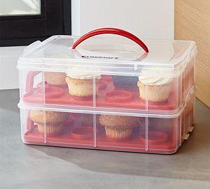 Cuisinart ® 2-Tier Cupcake Carrier