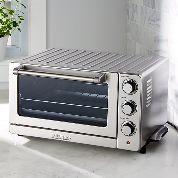 Countertop Convection Oven Cuisinart Toaster Oven : Cuisinart Convection Toaster Oven Broiler Crate and Barrel