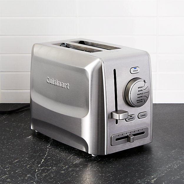 Cuisinart 174 Custom Select 2 Slice Toaster Crate And Barrel