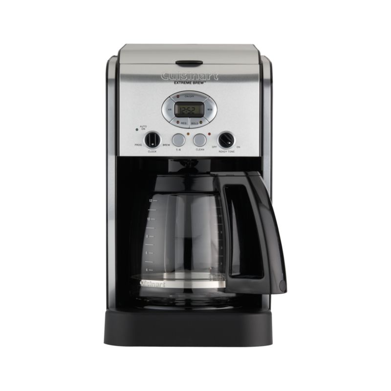 Cuisinart 12 Cup Extreme Brew Coffee Maker Crate and Barrel