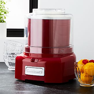 Cuisinart ® Red Ice Cream Maker/Frozen Yogurt Maker