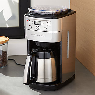 cuisinart grind and brew thermal 12 cup coffee maker Cuisinart Coffee Maker With Built In Grinder