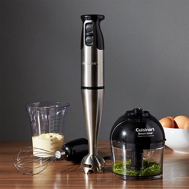 Handheld Blender Com ~ Cuisinart smart stick speed hand blender with ch crate