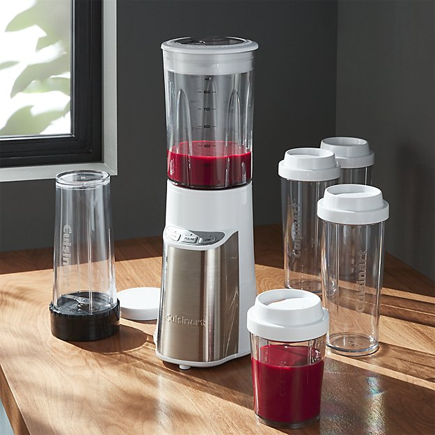 cuisinart compact smoothie blender crate and barrel. Black Bedroom Furniture Sets. Home Design Ideas