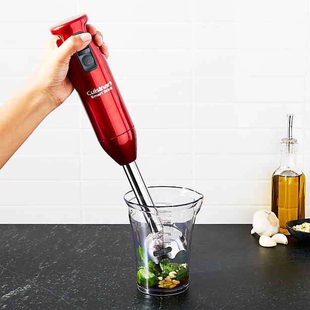 Cuisinart 2-Speed Smart Stick Metallic Red Hand Blender