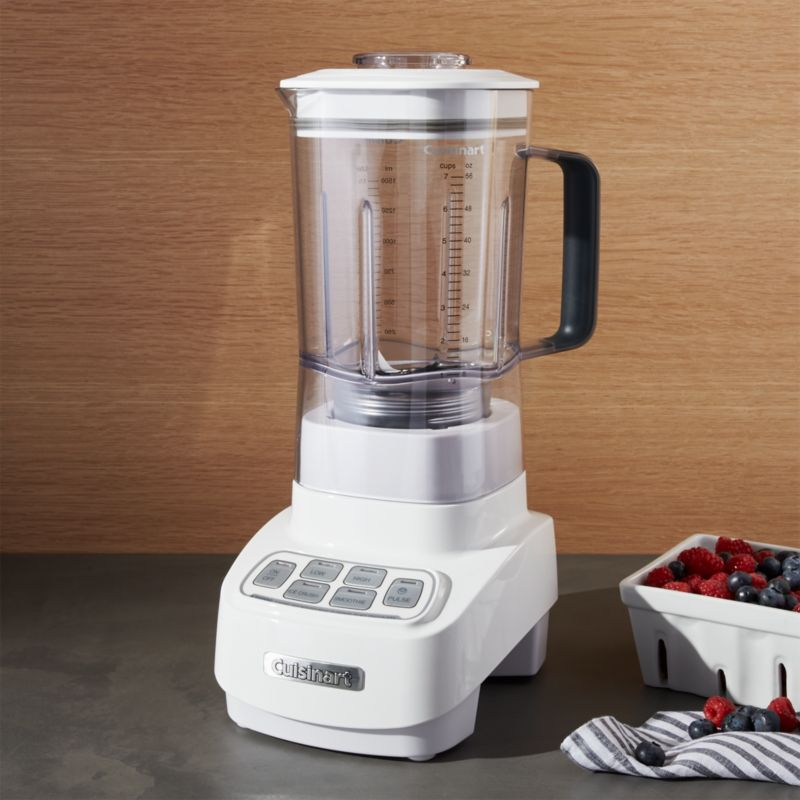 Cuisinart ® Velocity White/Stainless Steel Blender