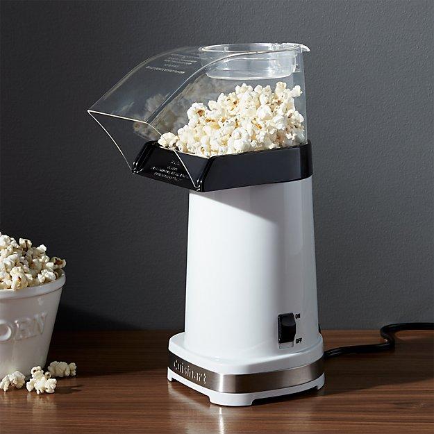 cuisinart hot air popcorn maker crate and barrel. Black Bedroom Furniture Sets. Home Design Ideas