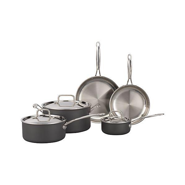 Cuisinart ® MultiClad Unlimited ™ 8-Piece Cookware Set with Bonus