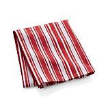 Cuisine Jolie Red and White Stripe Dish Towel