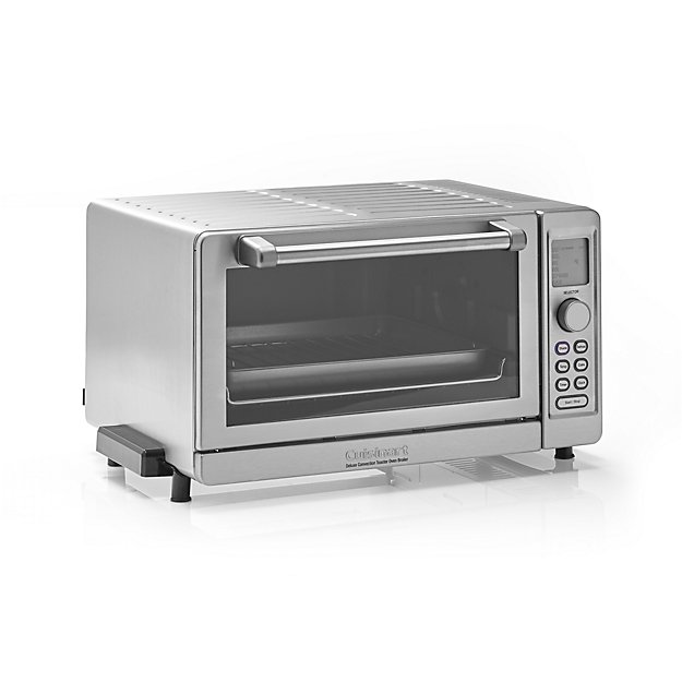 Countertop Convection Oven Cuisinart Toaster Oven : Cuisinart ? Deluxe Convection Toaster Oven with Broiler Crate and ...