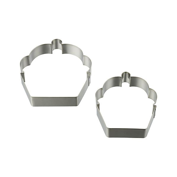 Set of 2 Cupcake Cookie Cutters
