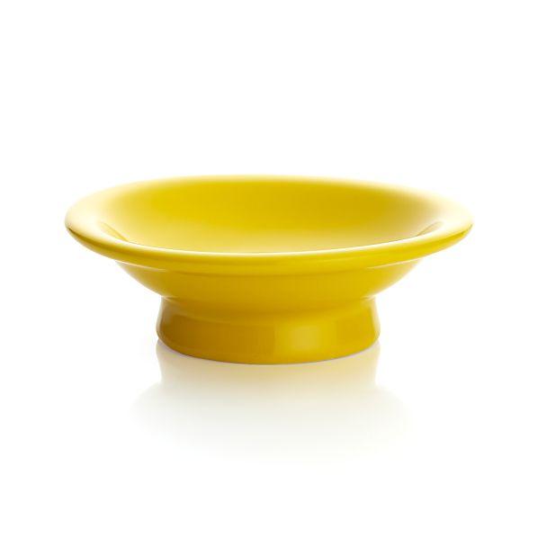 Yellow Cupcake Pedestal