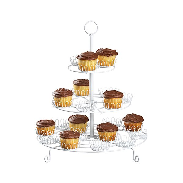 Three-Tier Cupcake Stand