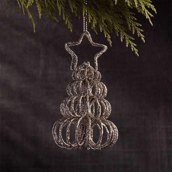 Curl Tree Silver Place Card Holder-Ornament