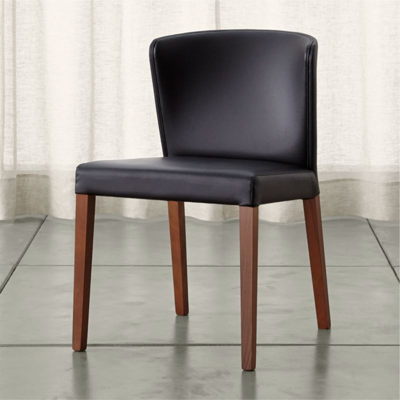 Black Dining Room Chair: Curran Black Dining Chair