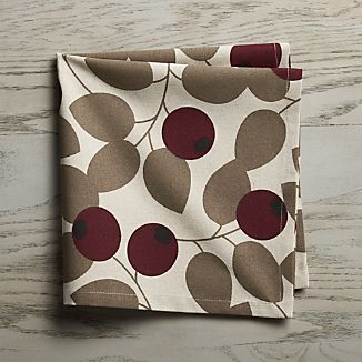 Currant Cloth Dinner Napkin